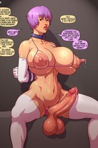 Cartoon huge tits porn